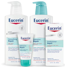 Eucerin makes great products, that don't leave you greasy