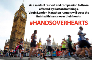 One of the main reasons I love running: the community #handsoverhearts